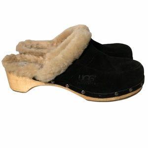 UGG Kalie fur lined Clog Mules